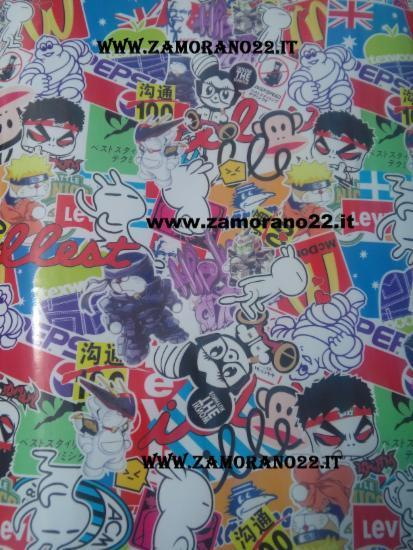 STICKERS BOMB MANGAS